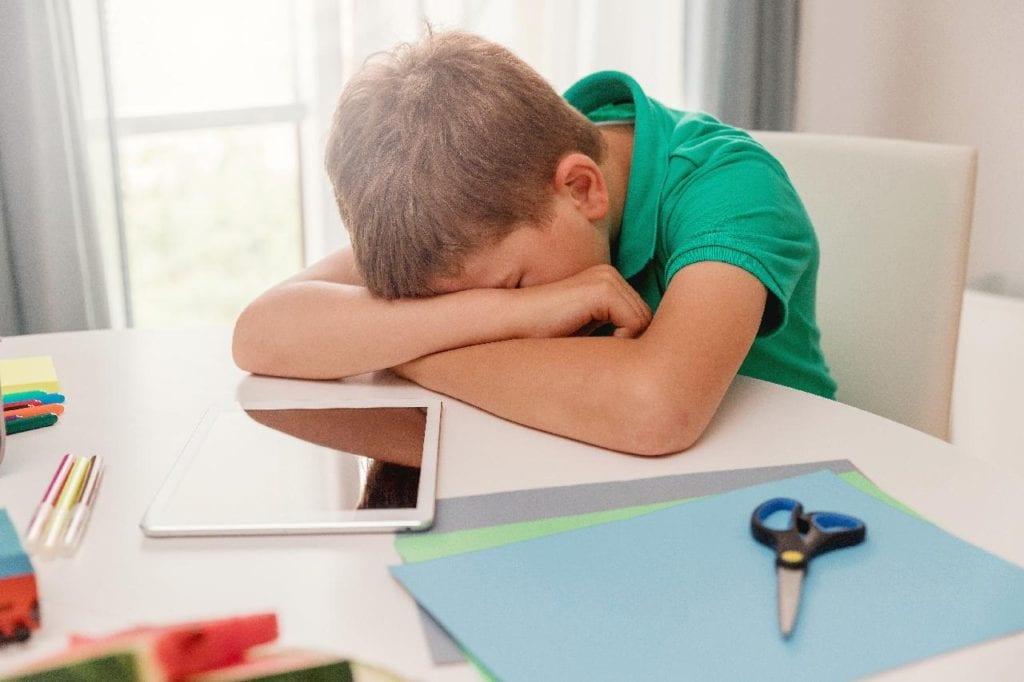 Lazy student needing to improve their study habits