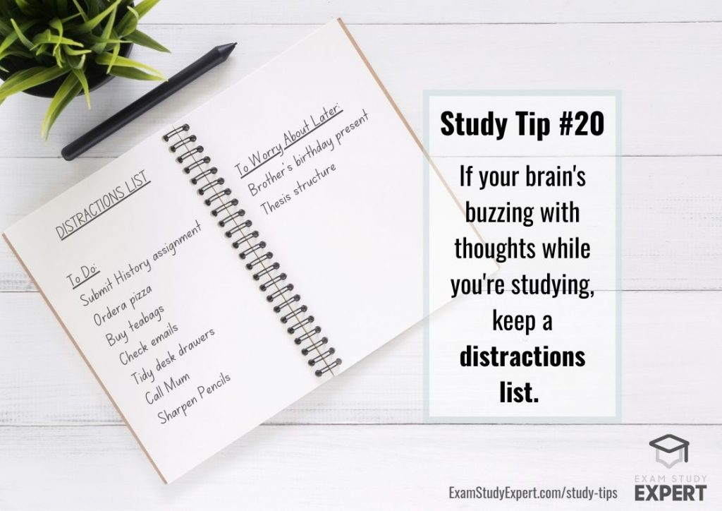 Study tip for students