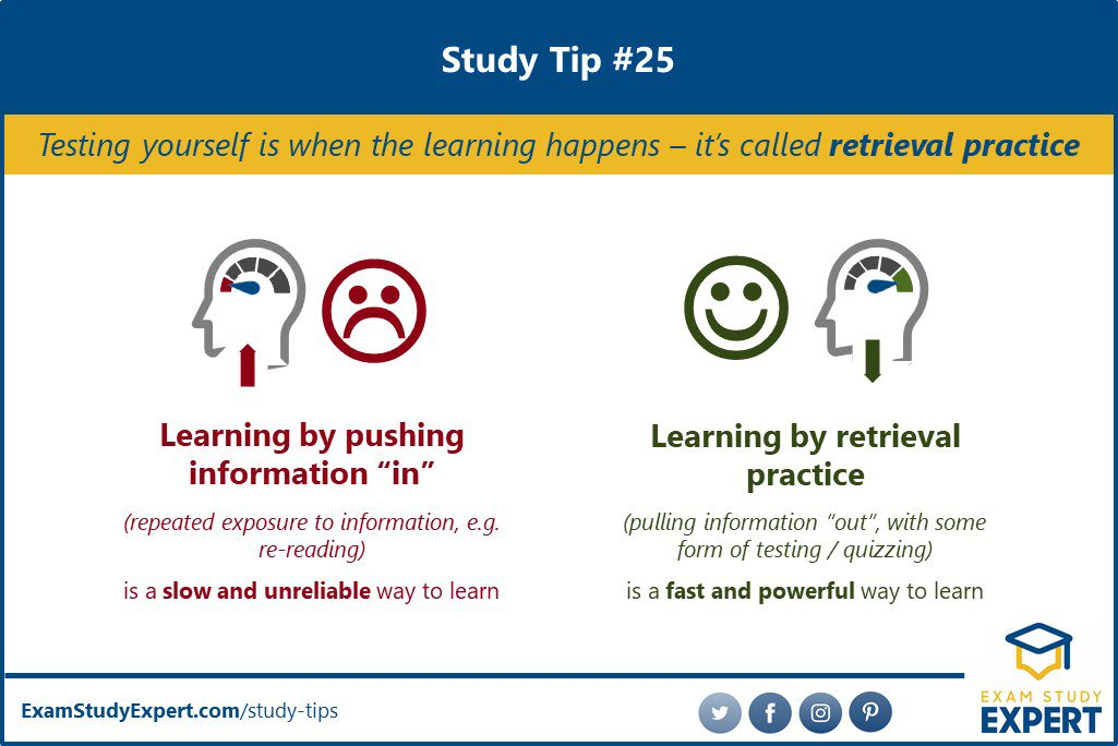 Study tips for memorization